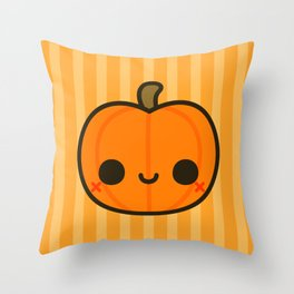 Cute Jack O' Lantern Throw Pillow