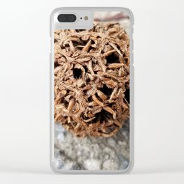 Seed pod Clear iPhone Case