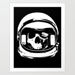 Ground control, there's something wrong Art Print