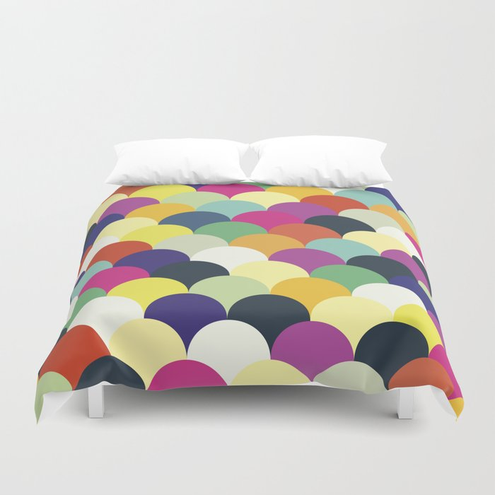 Colorful Circles Duvet Cover