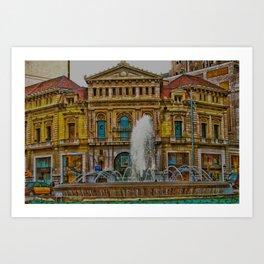 COMEDI Art Print