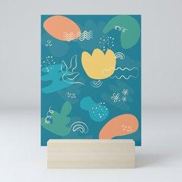 AbsOrganic Mini Art Print