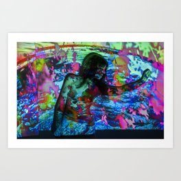 Untitled: Projection Series #20 Art Print