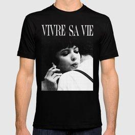 VIVRE SA VIE - ANNA KARINA- T-shirt