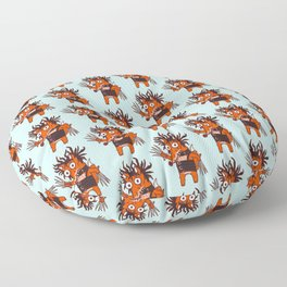 Scissorhands Fox Floor Pillow