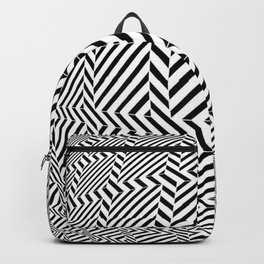 Tribute to Vasarely 6 -visual illusion- Backpack