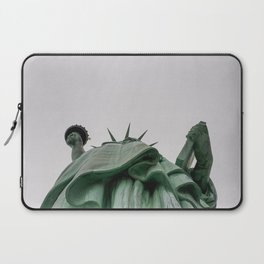 A Lady in green - NYC Laptop Sleeve