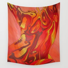 Contemporary Nude Of A Beautiful Hot Body Wall Tapestry