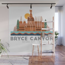 Bryce Canyon National Park Utah Graphic Wall Mural