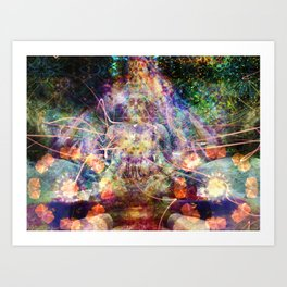 Mind Manifesting Art Print