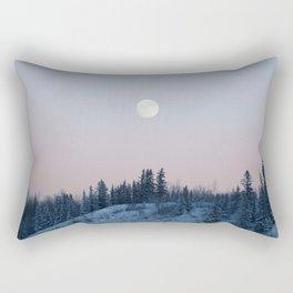 Pastel Moon Rectangular Pillow