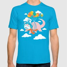 Slowpilot X-LARGE Mens Fitted Tee Teal