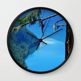Nature's Window - Lake Slocan, BC, Canada Wall Clock
