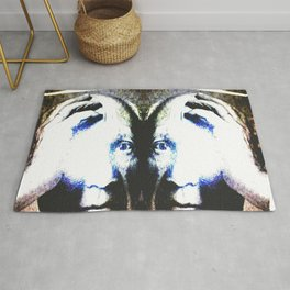 P the CASSO «the body in the middle» Rug
