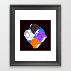 Gamecube Framed Art Print