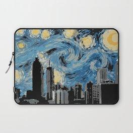 Atlanta Starry Night Laptop Sleeve