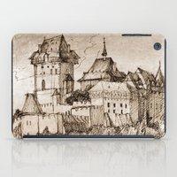 castle iPad Cases featuring Castle by Bunny Noir