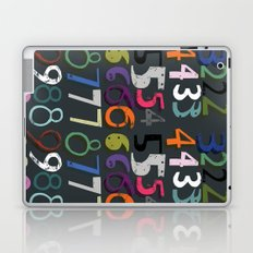 Numbers Laptop & iPad Skin