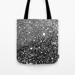 B&W meditation design Tote Bag