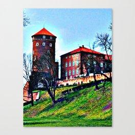 cracow - wawel Canvas Print