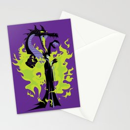 Maleficent Mistress of All Evil Stationery Cards
