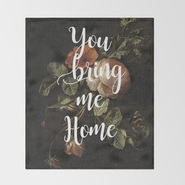 Harry Styles Sweet Creature graphic artwork Throw Blanket