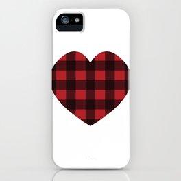 Lumberjack Love iPhone Case
