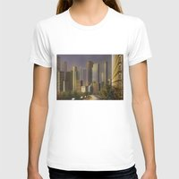 cityscape T-shirts featuring Cityscape by Viggart