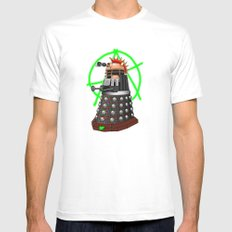 Punk Dalek Mens Fitted Tee MEDIUM White