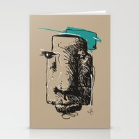 totem Stationery Cards featuring Totem by Mauricio Cosío