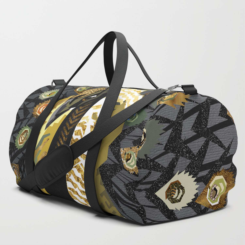 Watercolor Peacock Gym Bag