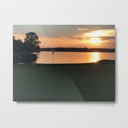 11 at Sunset Metal Print