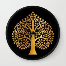 Bodhi Tree0110 Wall Clock
