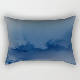 Minnehaha Blue Rectangular Pillow