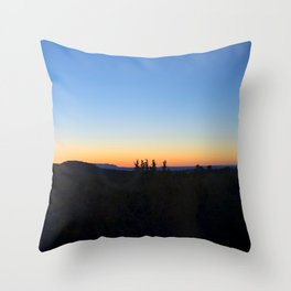 """Sunrise Moon"" Throw Pillow"