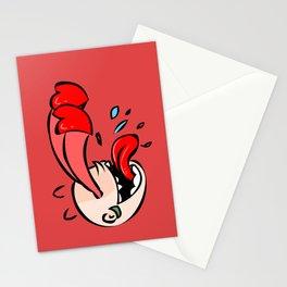 Amore es amor en un idioma extraño Stationery Cards