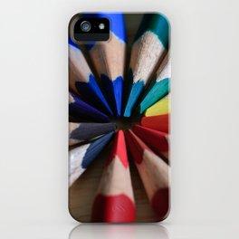 Interlocking Colors iPhone Case