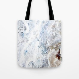 Earth Marble Tote Bag