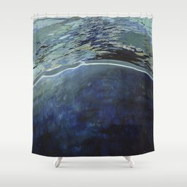 Deep Ocean Vast Sea Shower Curtain