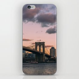 Sunset Over Brooklyn iPhone Skin