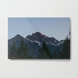 Big Mountain Metal Print