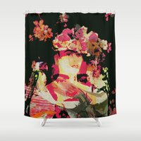 frida Shower Curtains featuring Frida by Fernando Vieira