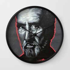 Christopher Lee Wall Clock