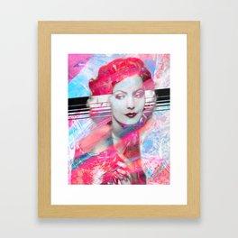 Graven Paint Framed Art Print
