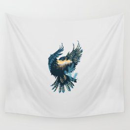 Forest Falcon Wall Tapestry