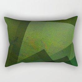 Charming Chartreuse Green - Digital Geometric Texture Rectangular Pillow