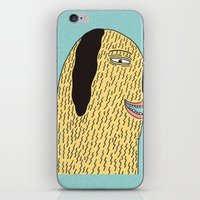 the dude iPhone & iPod Skins featuring Dude by MALKERM