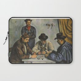 The Card Players Laptop Sleeve
