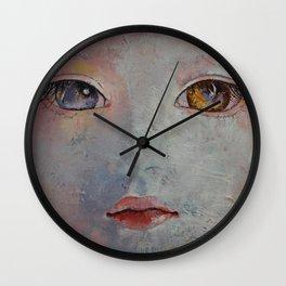 Baby Doll Wall Clock