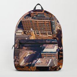 Aerial Cityscape (Color) Backpack